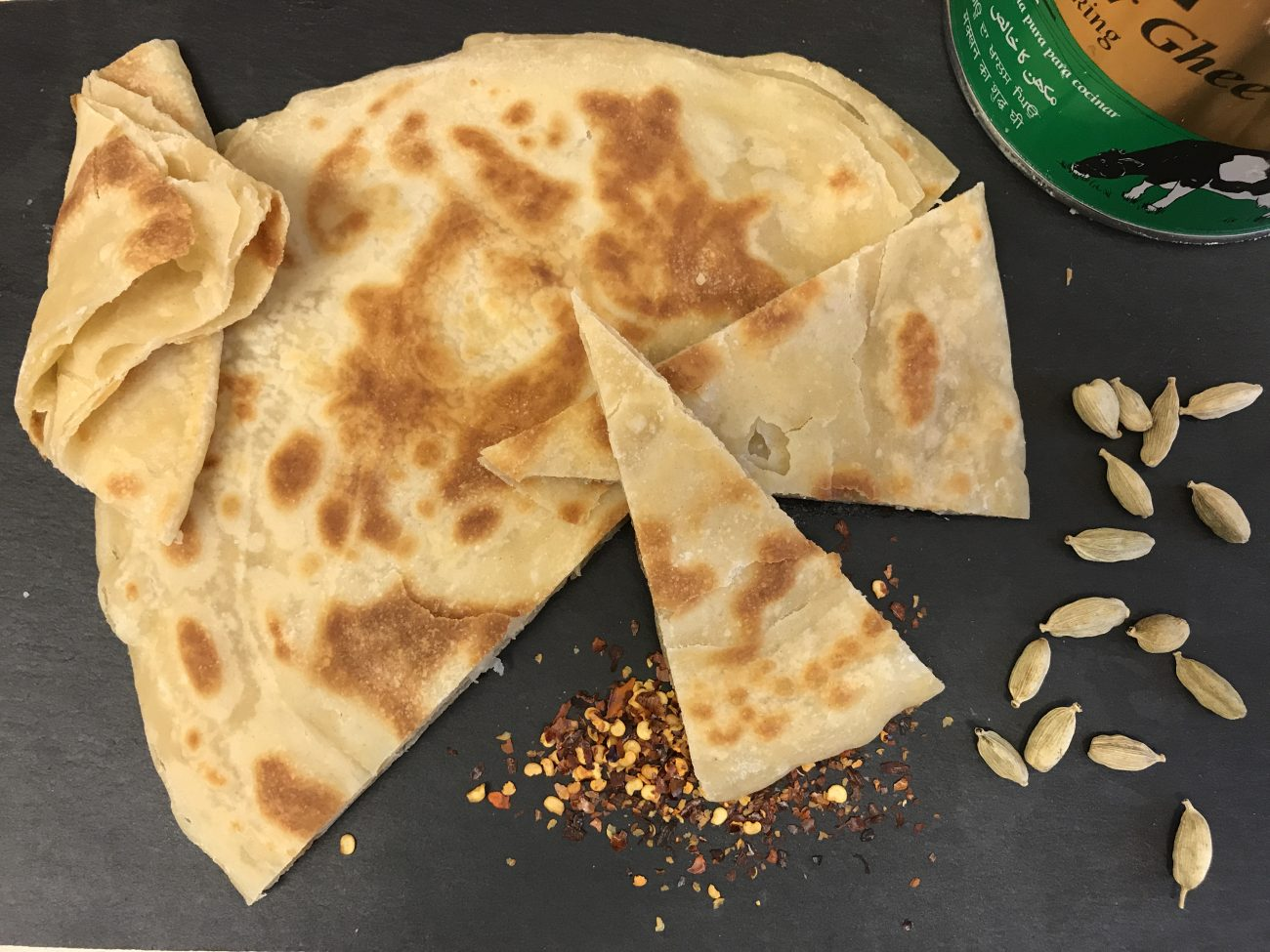 Paratha (made from scratch)