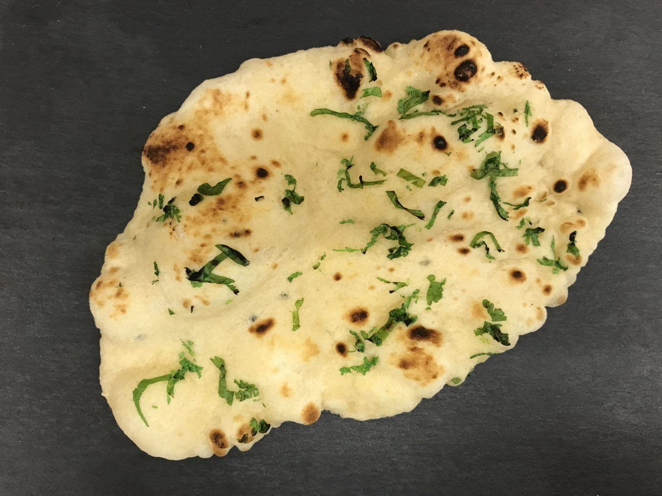 Naan Bread (made from scratch)