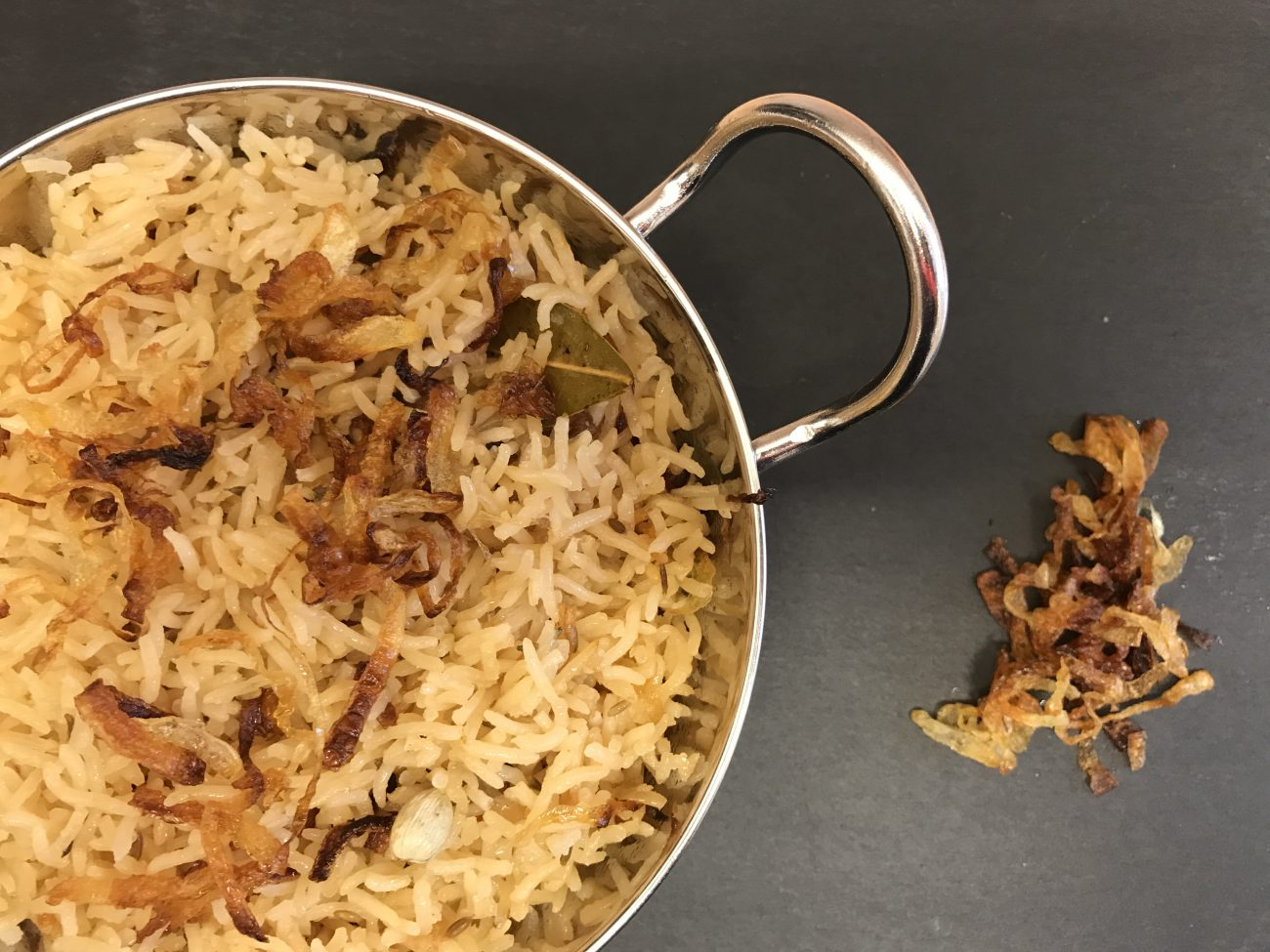 Onion Rice (made from scratch)