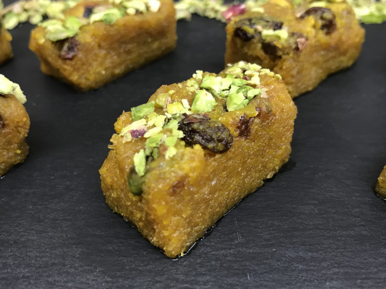 Gajar Halwa Mithai | Carrot Fudge | Pudding