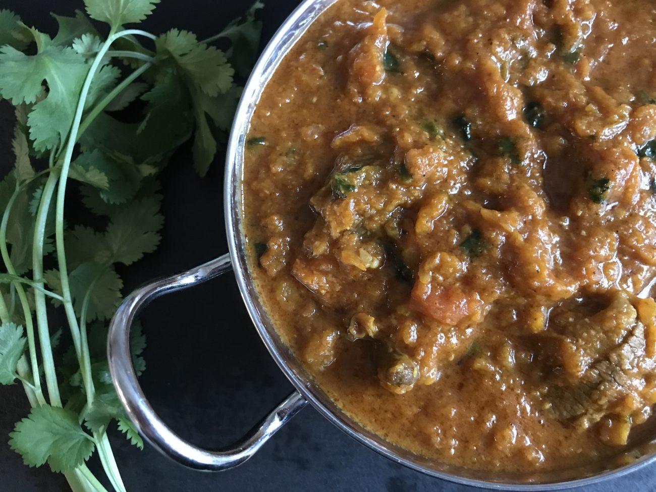 Madras (made with base gravy)