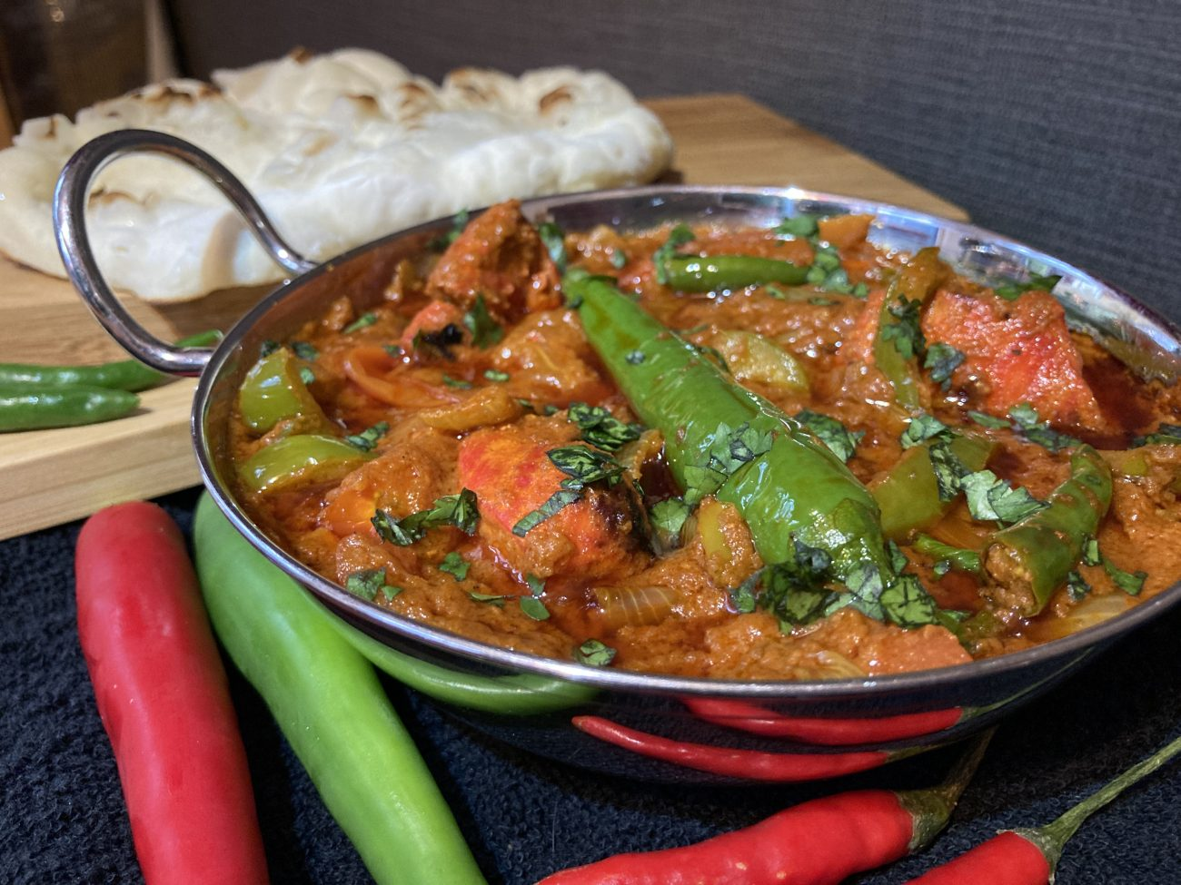 Jalfrezi (made from scratch)