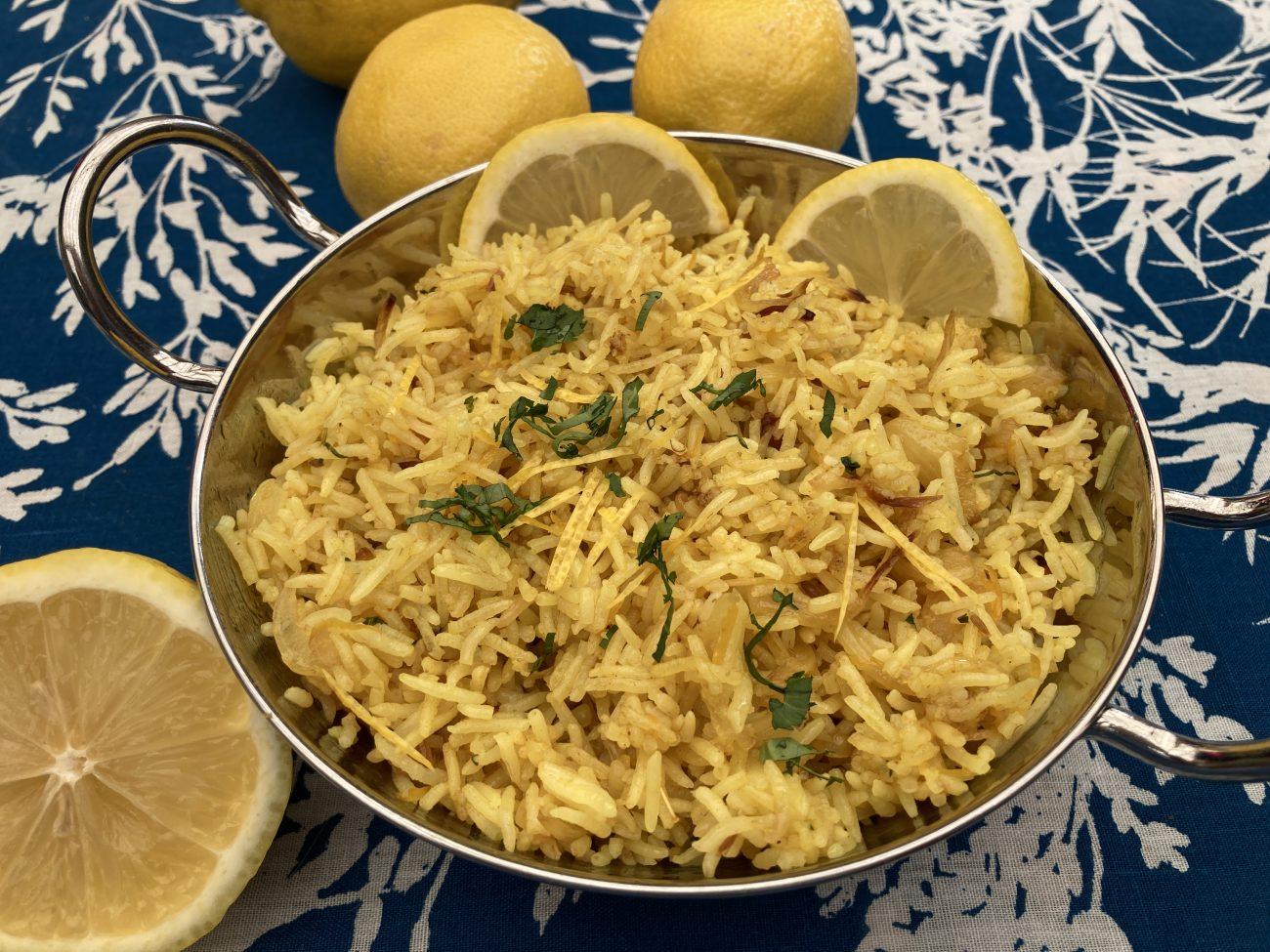 Lemon Pilau Rice
