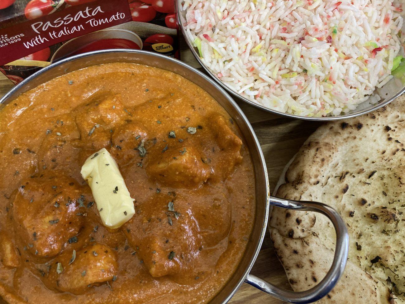 Butter Chicken / Murgh Makhani (made from scratch)