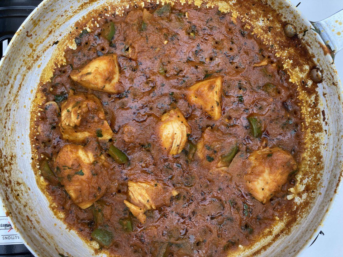 Chicken Capsila (British Indian Restaurant Style / BIR)