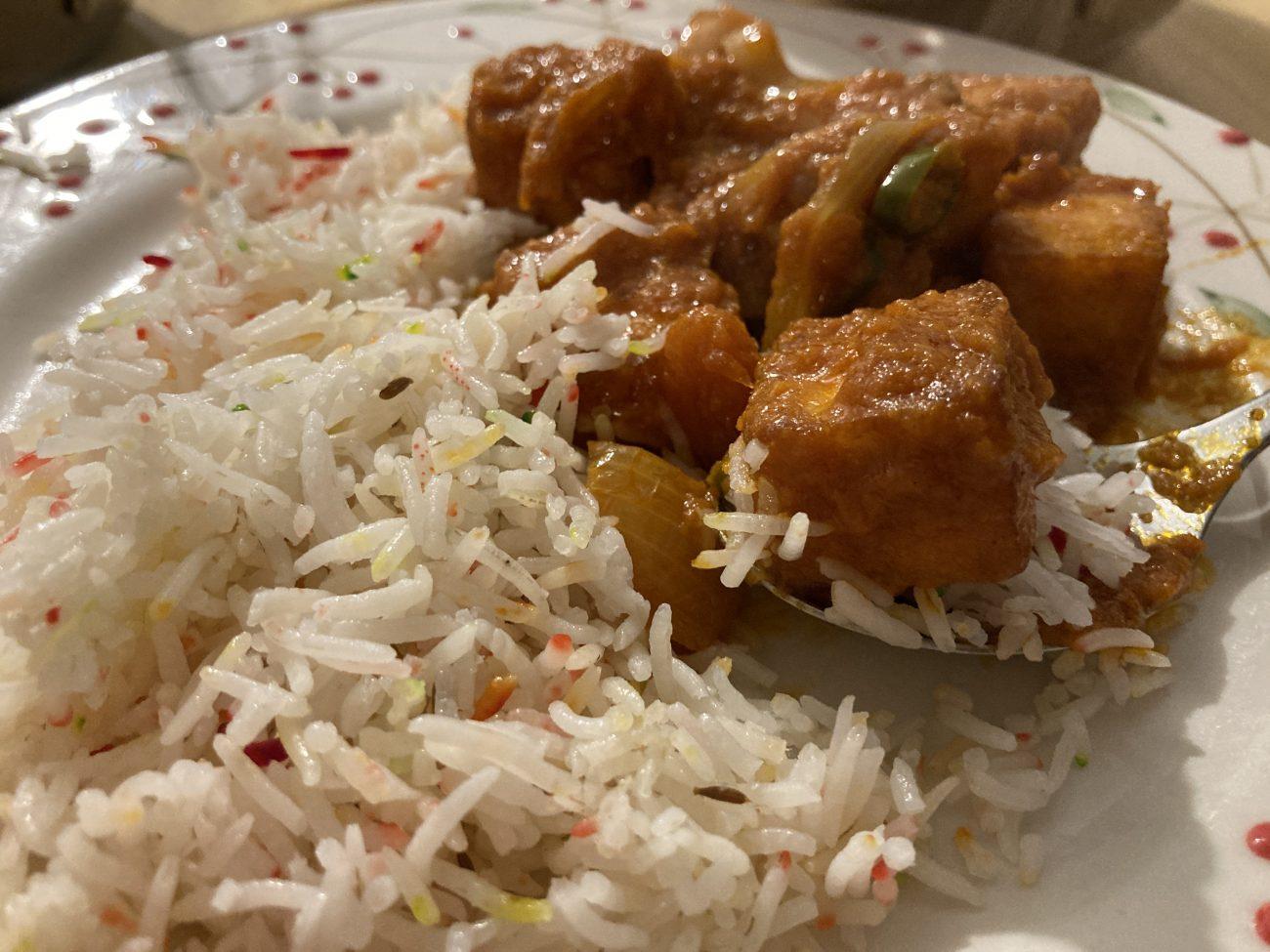 Chilli Garlic Paneer (British Indian Restaurant / BIR Style)