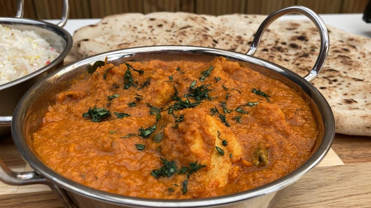 Chicken Ceylon (British Indian Restaurant Style / BIR)