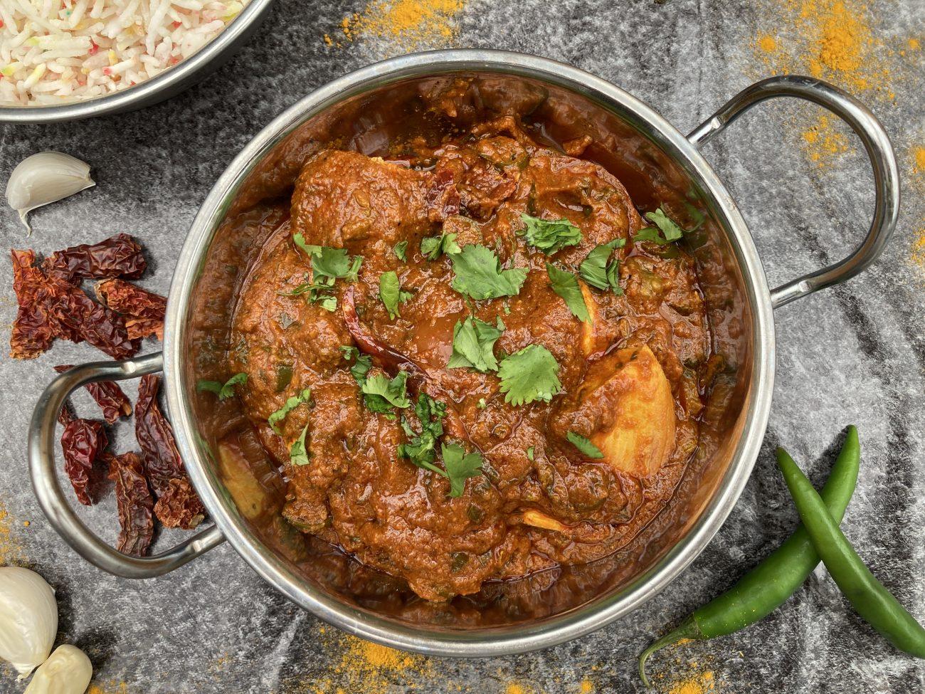 Vindaloo (made with base gravy)